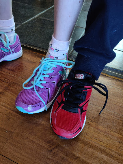 shoelaces & smug face